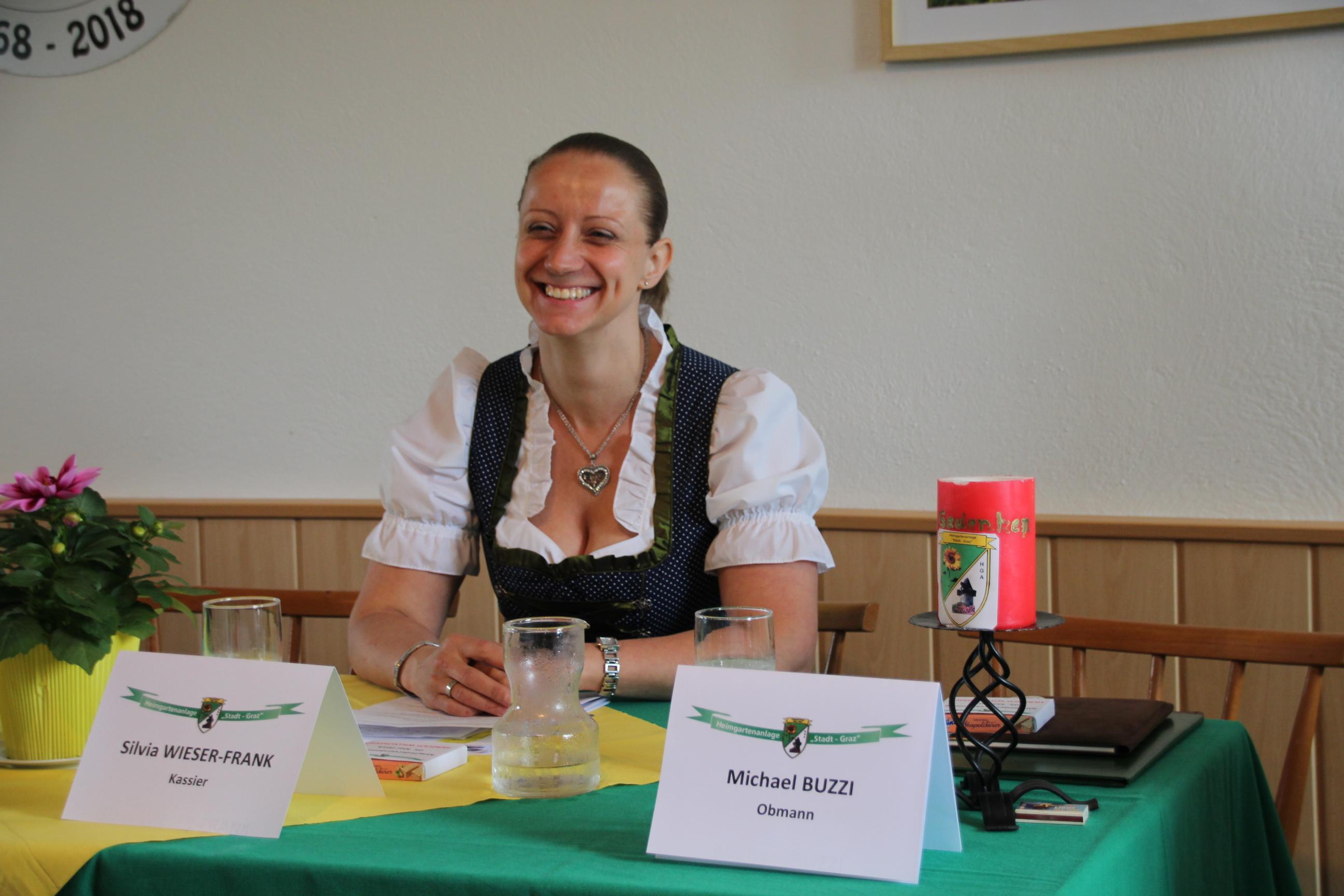 Kassier Silvia Wieser-Frank