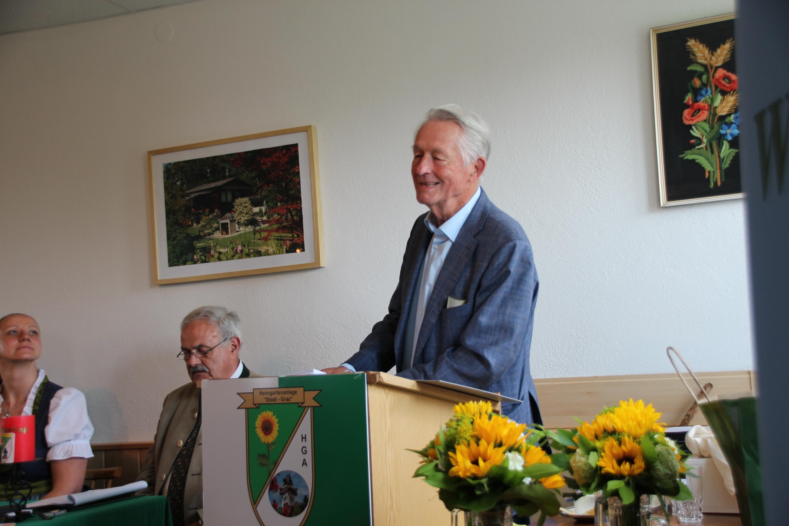 Wahlleiter Harald Kastner