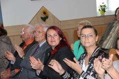 Ehrenobmann Alfred Klausner, Ehrenobmann Herbert Simmer, Gemeinderätinnen Claudia Schönbacher und Daniela Gemeinbauer