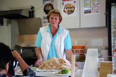 Unser Engel Rosina Penz bei der Arbeit