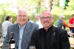 Ehrenobmann Herbert Simmer, Präsident des LV Steiermark Ing. Walter Wusche